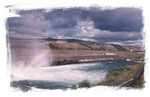 Whitehorse Dam & Fish Ladder