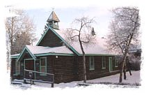 Old Log Church - Whitehorse, Yukon